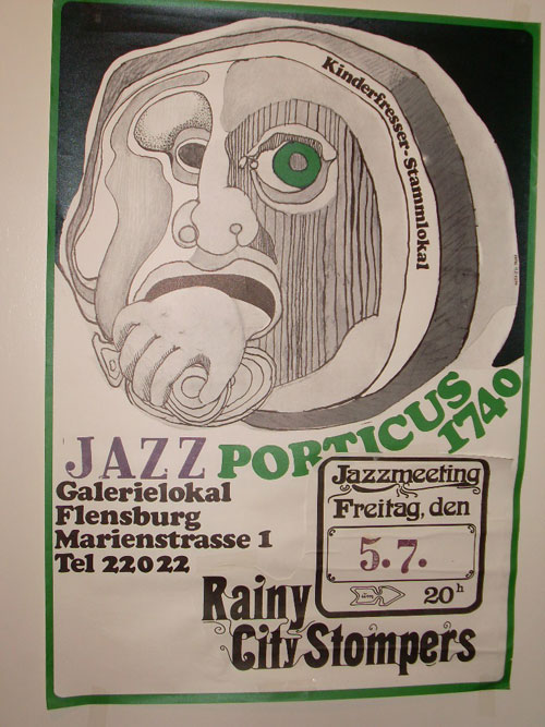 Rainy City Stompers  Plakat Marienstraße 1
